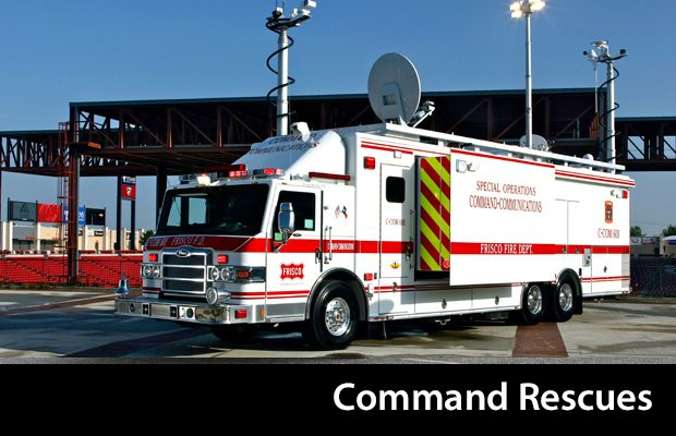 Pierce Command Rescues