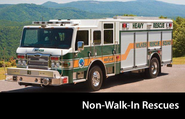 Pierce Non-Walk-In-Rescues