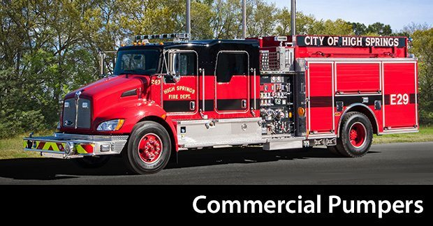 Commercial Chassis Pumpers