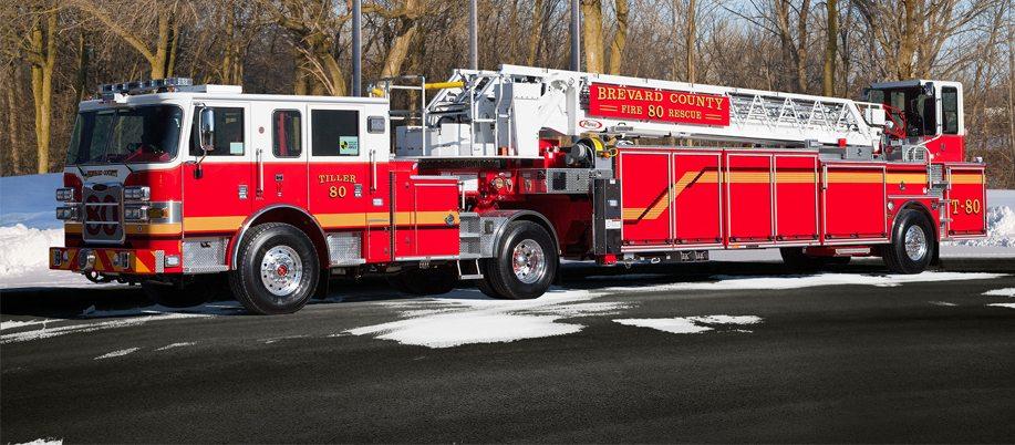 Brevard County 100' Aerial Firetruck