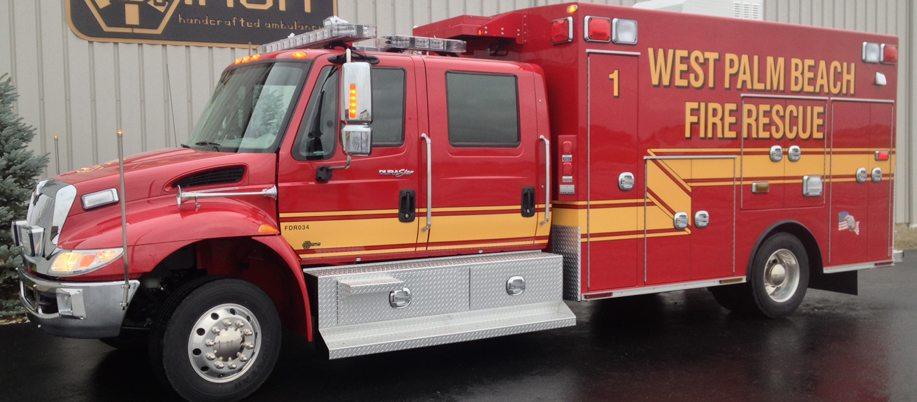 Ten 8 Fire Equipment Braun Super Chief Ambulance Delivered