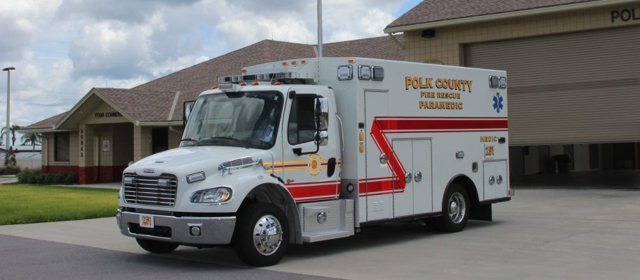 Polk County Braun Super Chief Ambulances